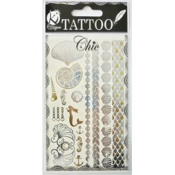 tatouage ephemere tatoo chic coquillage