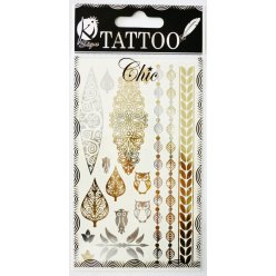 tatouage ephemere tatoo chic chouette