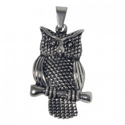 fancy stars breloque hibou 4 cm