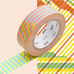 masking tape mt 15 mm raye multicolore 1