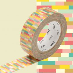 masking tape mt 15 mm mosaic tons chauds