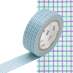 Masking Tape MT 15 mm Quadrillage