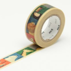 masking tape mt kids 15 mm animaux