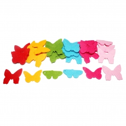 motif en feutrine papillon 30 pieces