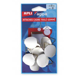accroche tableau toile gomme 10 pieces