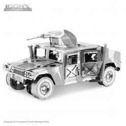 maquette metal iconx 4x4 hummer