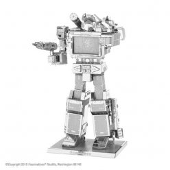 maquette metal transformers soundwave