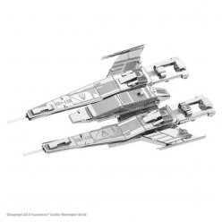 maquette metal mass effect sx3 alliance fighter