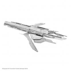 maquette metal mass effect turian cruiser