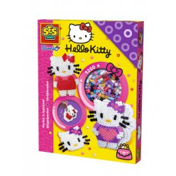 Kit perles & plaques standard (Ø5 mm) Hello Kitty