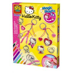 kit plastique magique porte cles hello kitty