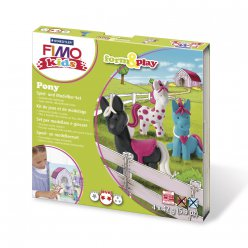 kit pate fimo kids pony mon petit poney 803408 ly