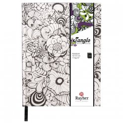 tangle agenda orchid 159x209 cm