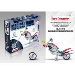 kit maquette en metal moto chopper