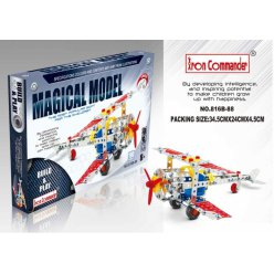 kit maquette en metal avion biplan