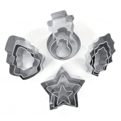 emporte pieces metal noel 12 pieces
