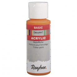 peinture acrylique decoart 59 ml multi support