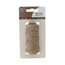 ficelle naturel 1mm x 60m