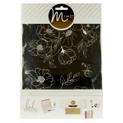 plaque de serigraphie art screen minc fleur