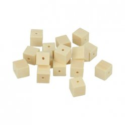 perle bois lucy carre 10x10mm 30 pieces