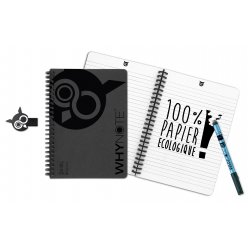 kit complet whynote carnet stylo nettoyage et housse