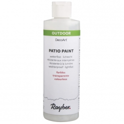 vernis colle patio paint serviettage