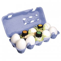 kit marble paint carton a oeufs
