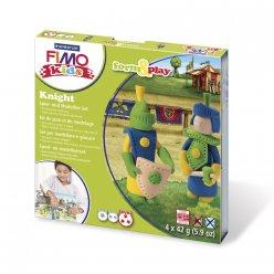 kit pate fimo kids chevalier 803405 ly