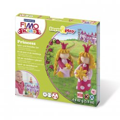 kit pate fimo kids princesse 803406 ly