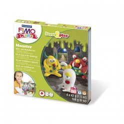 kit pate fimo kids monstre 803411 ly