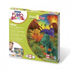 kit pate fimo kids dinosaure 803407 ly