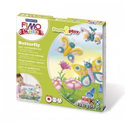 kit pate fimo kids papillon 803410 ly