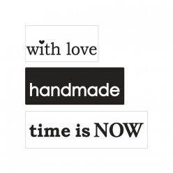 labels  poincons love handmade time