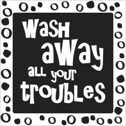 labels  poincons wash away all your troubles
