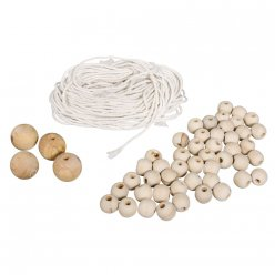 kit pour suspension macrame ton naturel
