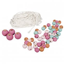 kit pour suspension macrame coloree