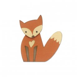sizzix thinlits die set  renard