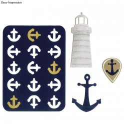 die thinlits  nautical 5 pieces