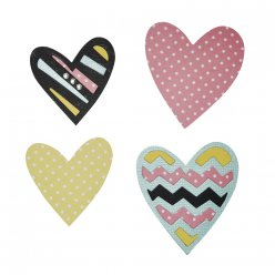 sizzix bigz  tribal hearts