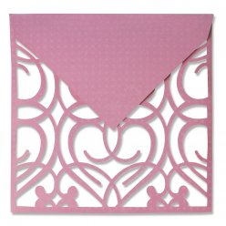 sizzix thinlits plus set  envelope square