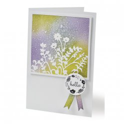 sizzix thinlits set  bouquet