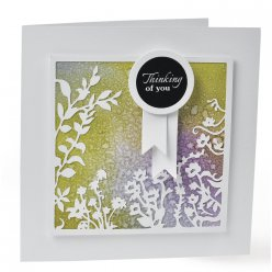 sizzix thinlits set  filigree border
