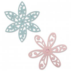 sizzix thinlits kit delightful daisy 2 pieces