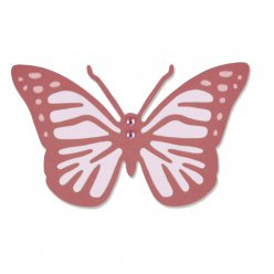 sizzix thinlits  vintage butterfly