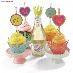 set de dies thinlits set  cupcake wrappers
