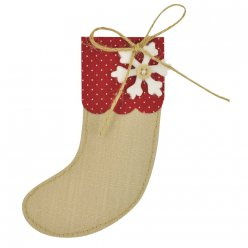 matrice bigz  christmas stocking chaussette de noel