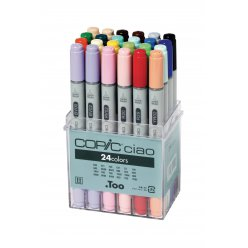 set copic ciao 24 couleurs