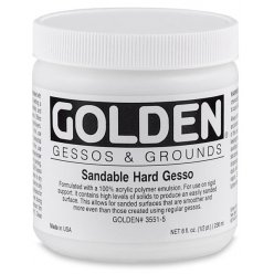 sandable hard gesso 236 ml