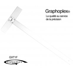 graphoplex tes te tete vissee 2 bords 65 cm