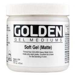 soft gel matte 473 ml